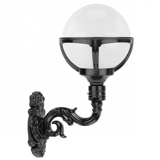 Buitenlampen Klassiek Landelijk Bollamp gevel melkglas Ossenzijl - 55 cm