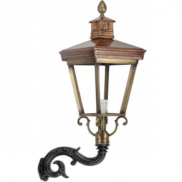 Außenbeleuchtung Klassisch Ländlich Außenlampe Atmosphäre Hoorn bronze - 87 cm