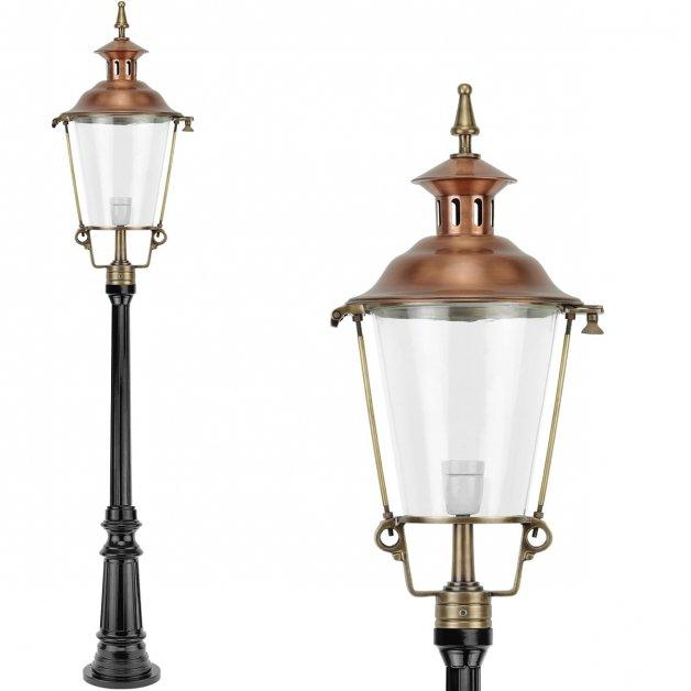Outdoor lamps Classic Rural Outdoor lantern Achterbos bronze - 162 cm