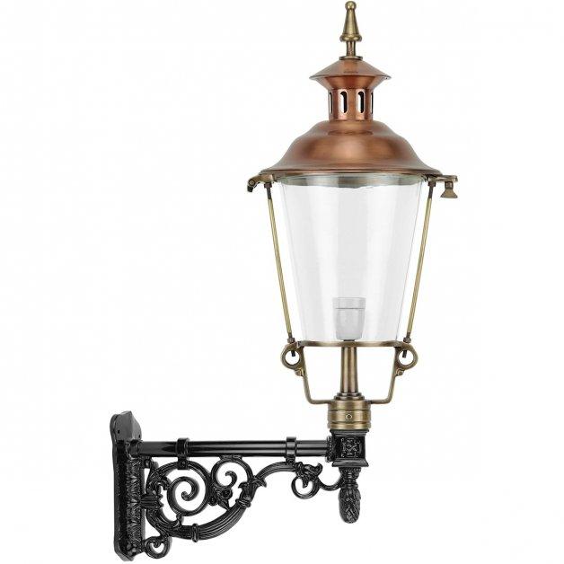 Außenbeleuchtung Klassisch Ländlich Außenwandlampe Nigtevecht bronze - 98 cm