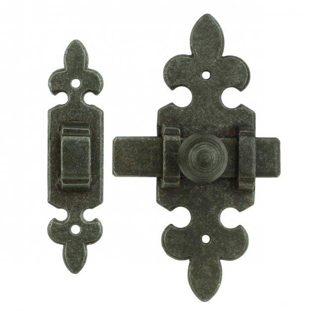Türbeschläge Türschlösser Türschloss mit schlossplatte eisen - 100 mm