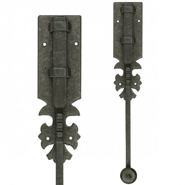 Türbeschläge Türschlösser Türriegel aufbau mit schließplatte - 250 mm