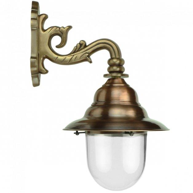 Buitenverlichting Klassiek Landelijk Franse stallamp Zierikzee brons - 53 cm