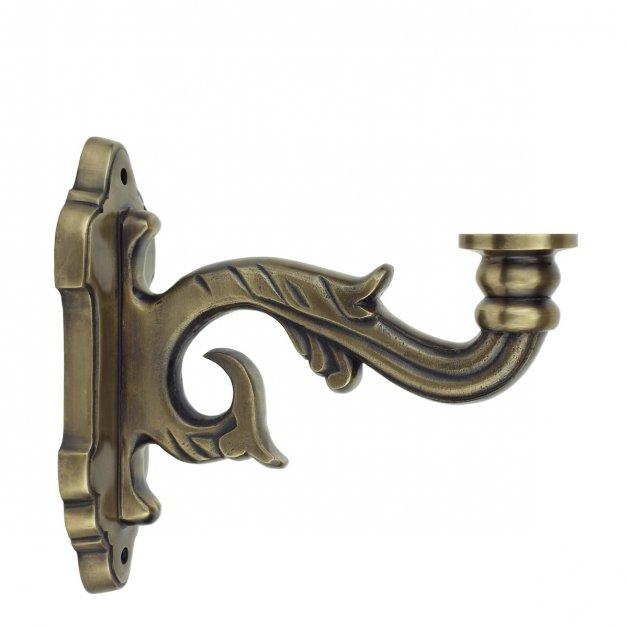 Außenleuchten Komponenten Fassadenhalterung Kedichem WA10HBR - 23 cm