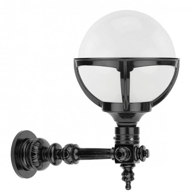 Buitenlampen Klassiek Landelijk Glasbol lamp opaalglas Ellemeet - 40 cm