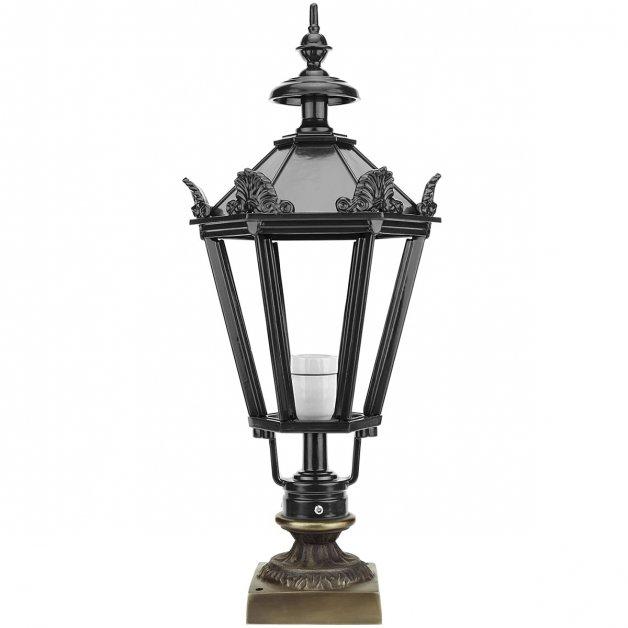 Außenbeleuchtung Klassisch Nostalgisch Laterne außenlampe Agelo bronze - 73 cm