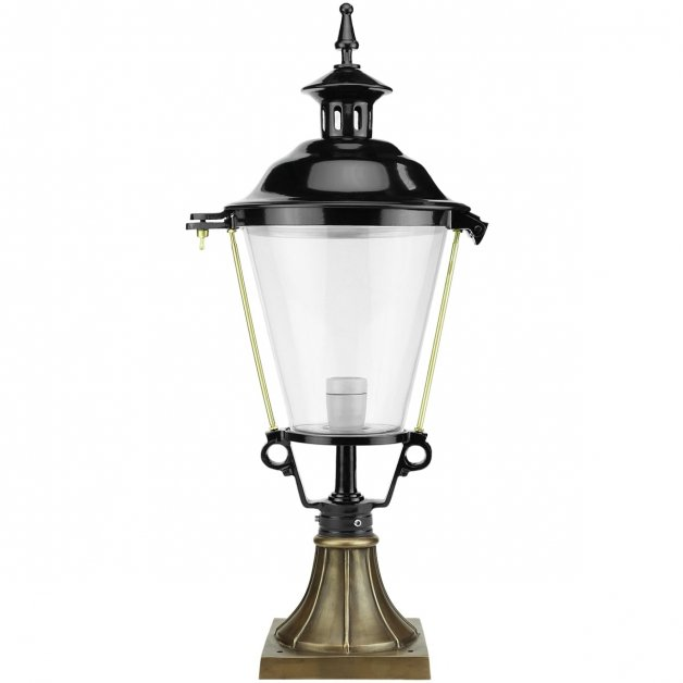 Outdoor Lighting Classic Rural Lantern lamp Bloemendaal bronze - 76 cm