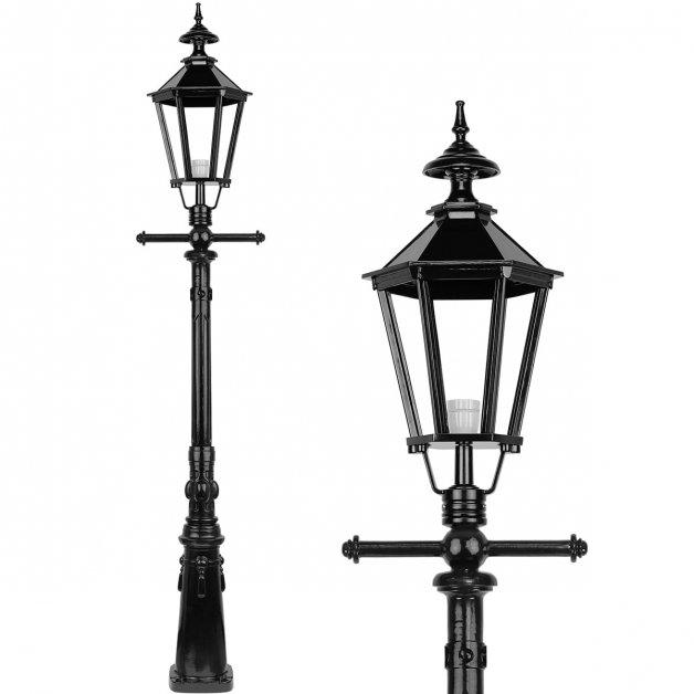 Außenbeleuchtung Klassisch Ländlich Laternenpfahl einfahrt Ruigahuizen - 245 cm