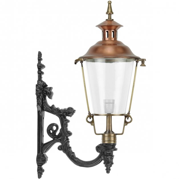 Außenbeleuchtung Klassisch Ländlich Mauerlaterne Beutenaken bronze - 83 cm