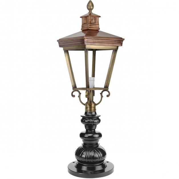 Buitenverlichting Klassiek Landelijk Oprit lamp hellevoetsluis brons - 91 cm
