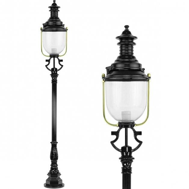 Buitenverlichting Klassiek Landelijk Paallantaarn monumentaal Ankum - 240 cm