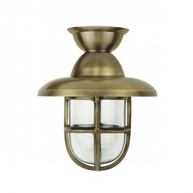 Buitenverlichting Nautisch Maritiem Scheepslamp Marine messing - 28 cm