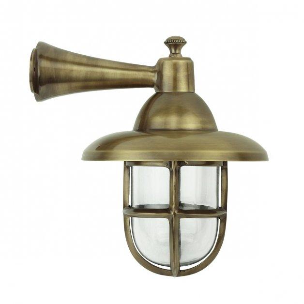 Buitenverlichting Nautisch Maritiem Scheepslamp Nautica messing - 28 cm