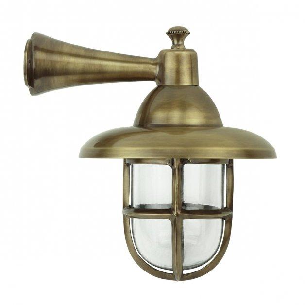 Buitenverlichting Nautisch Maritiem Scheepslamp Nautica messing - 32 cm