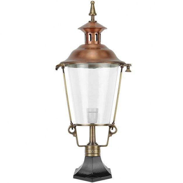Garden Lighting Classic Rural Atmosphere lamp De Vecht copper - 70 cm