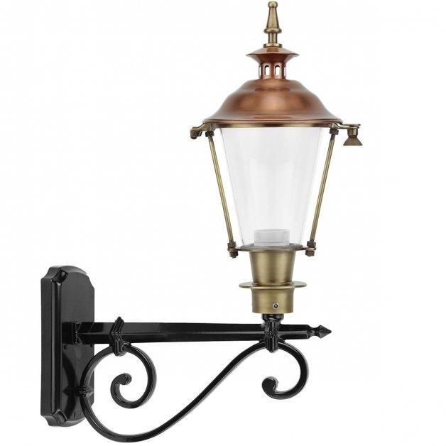 Außenleuchten Klassisch Ländlich Atmosphäre lampe außen Heerde bronze - 60 cm