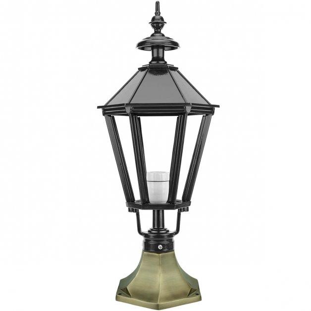 Außenbeleuchtung Klassisch Ländlich Terrassen lampe Borssele bronze - 64 cm