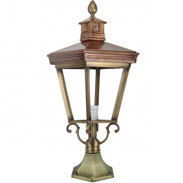 Buitenverlichting Klassiek Landelijk Tuinlamp Sittard Brons - 72 cm