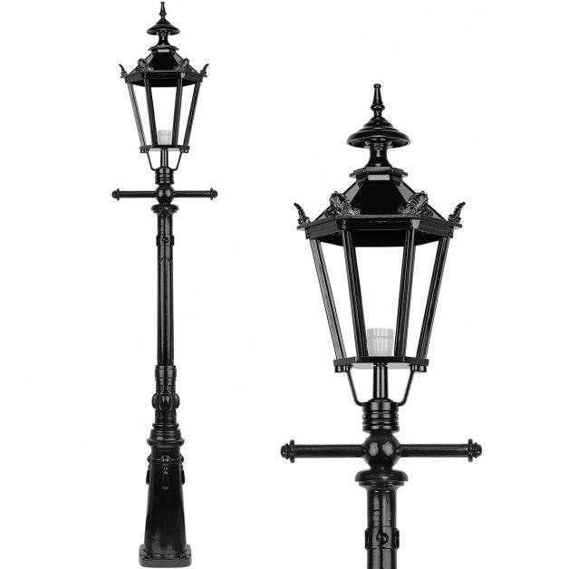 Außenbeleuchtung Klassisch Ländlich Gartenlaterne Viktorianisch Rincon - 245 cm