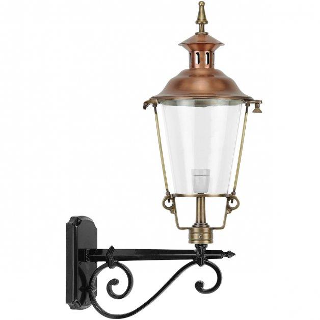 Außenbeleuchtung Klassisch Ländlich Wandlampe draußen rund Barlaque - 80 cm