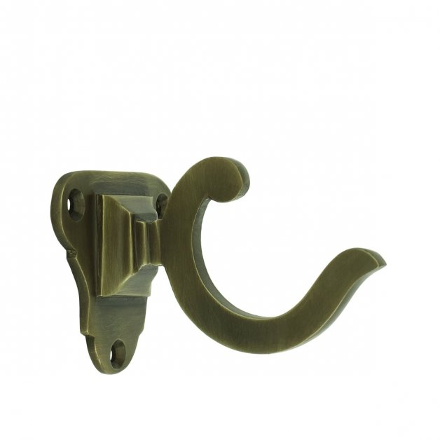 Hardware Coat Hooks Bathroom hook old brass Dassow - 46 mm