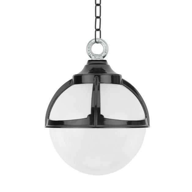 Buitenverlichting Klassiek Landelijk Bol hanglamp Achlum aan ketting - Ø 25 cm