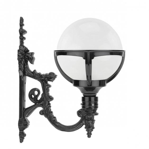 Buitenlampen Klassiek Landelijk Bol muurverlichting opaal Koolwijk - 58 cm