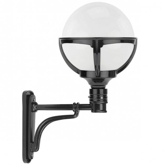 Buitenlampen Klassiek Landelijk Bol wandlamp strak Leggeloo - 55 cm