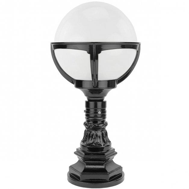 Buitenverlichting Klassiek Landelijk Bollamp Schagen Opaal bol - 56 cm