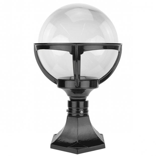 Außenleuchten Retro Design Kugelleuchte transparent Bornwird - 42 cm