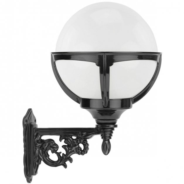 Buitenlampen Klassiek Landelijk Bollamp wandverlichting Bonnerveen - 45 cm