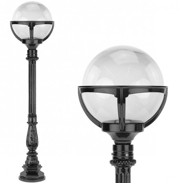Außenleuchten Nostalgisch Rustikal Kugel laterne klarglas Crixhoek - 120 cm