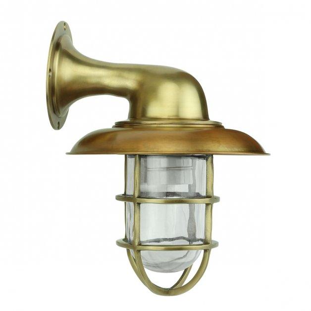Außenbeleuchtung Maritim Nautik Boot wandleuchte Harbour bronze - 28 cm