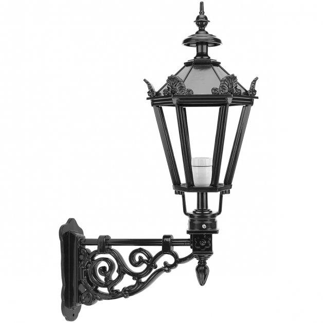 Buitenverlichting Klassiek Landelijk Buitenlamp Heerlen met kronen - 85 cm