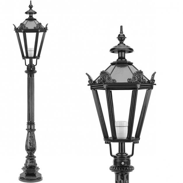 Außenbeleuchtung Klassisch Ländlich Außenlaterne stehende Creil - 142 cm
