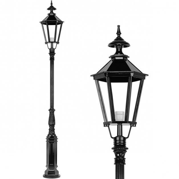 Außenbeleuchtung Klassisch Ländlich Außenlaterne stehen Zevenhuis - 290 cm