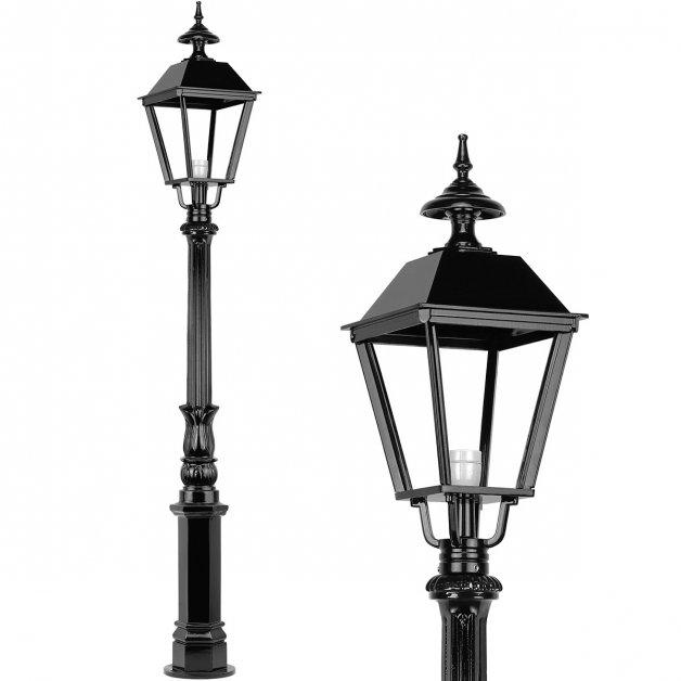 Außenleuchten Klassisch Ländlich Außenlaterne stehend Blijdenstein - 195 cm