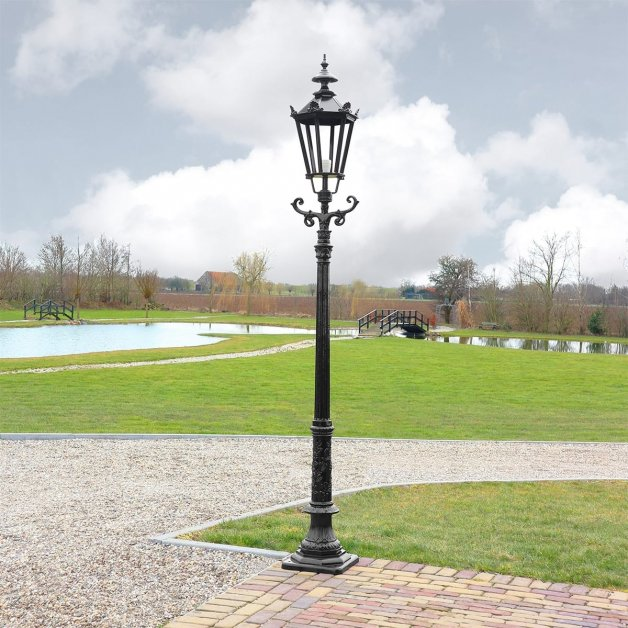 Außenbeleuchtung Klassisch Ländlich Außenlaterne garten Voorthuizen - 280 cm