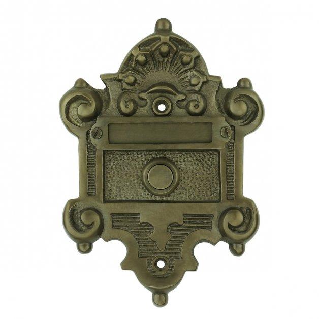 Türbeschläge Türklingel Türklingel mit namen bronze Netphen - 135 mm