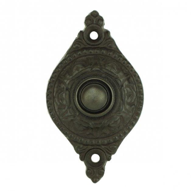Türbeschläge Türklingeln Klingelplatte altmodisch eisen Bebra - 83 mm