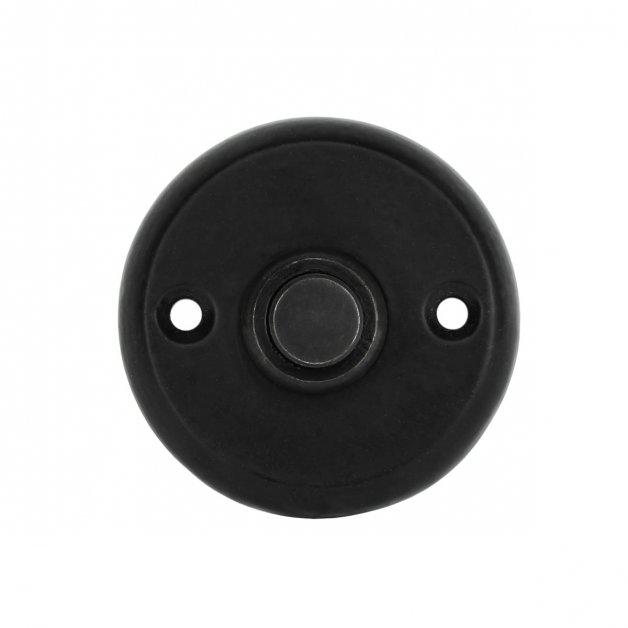 Türbeschläge Türklingeln Türklingel herum schwarz eisen Pirna - Ø 50 mm
