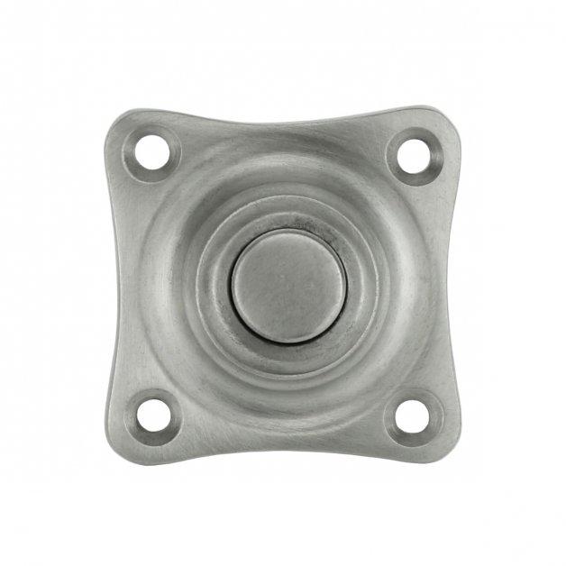 Türbeschläge Türklingeln Türklingel quadratisch nickel Klötze - 38 mm