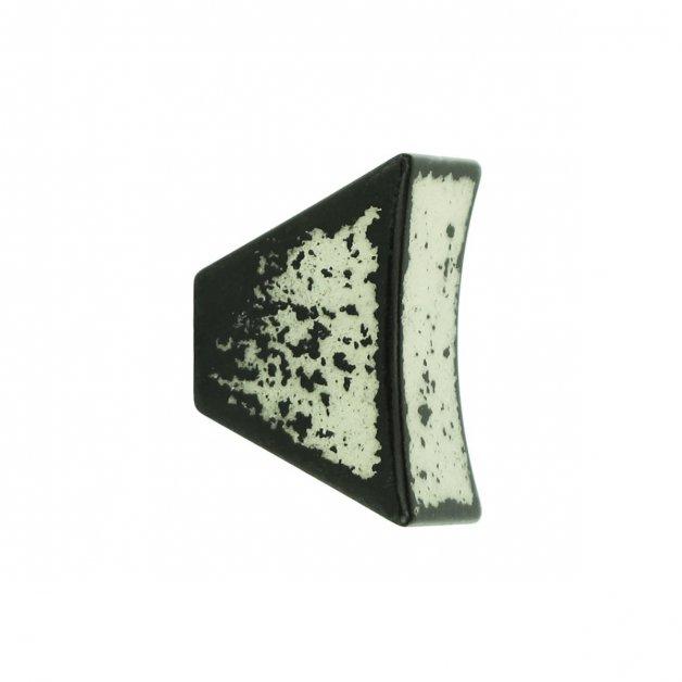 Deurbeslag Deurgrepen Deurgreepje industrieel oud wit Kahla - 44 mm