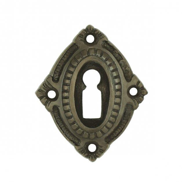 Hardware Door Rosettes Door key rosette antique bronze Gotha - 66 mm