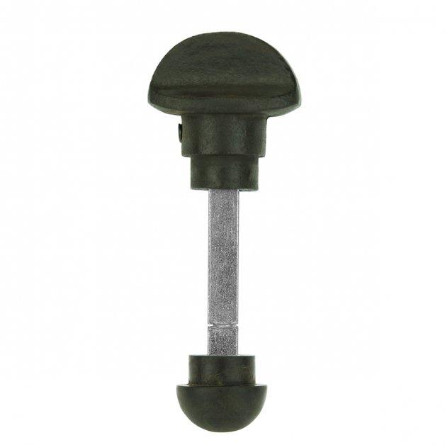 Deurbeslag Toiletsluitingen Deurstift slot bruin gietijzer - Ø 23 mm