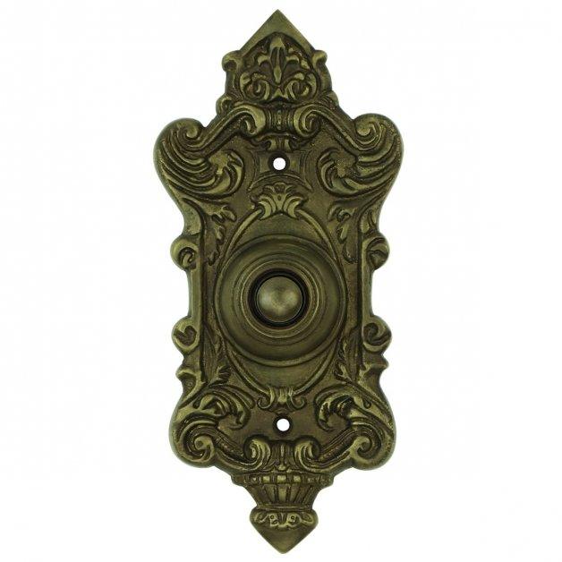 Türbeschläge Türklingeln Klingel Französisch alt bronze Taucha - 150 mm