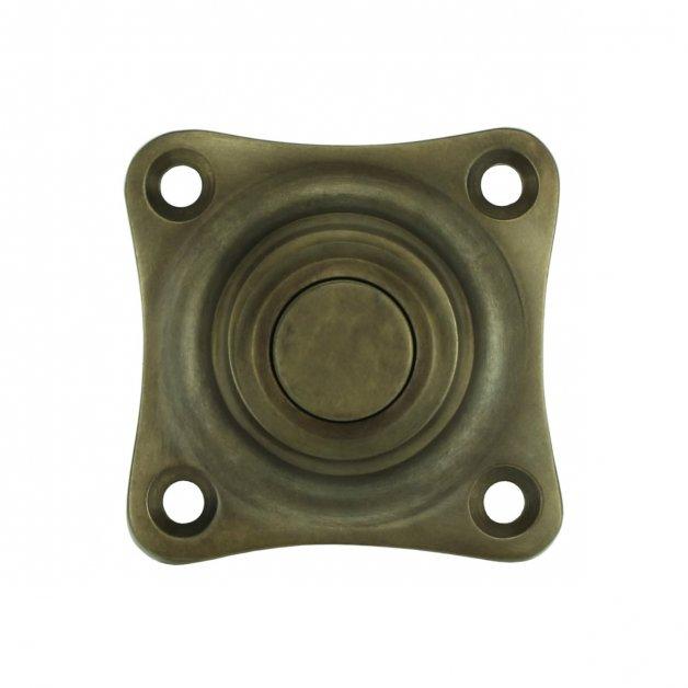 Türbeschläge Türklingeln Drucktaster rustikal bronze Lüchow - 38 mm