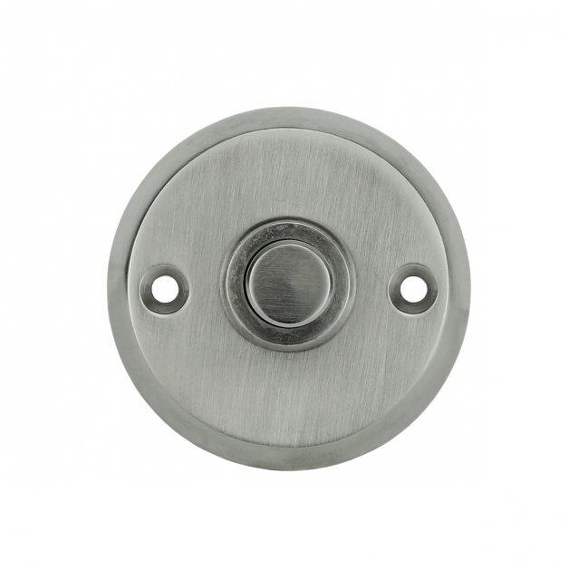 Türbeschläge Türklingeln Druck klingel aufbau nickel Kirtorf - Ø 50 mm
