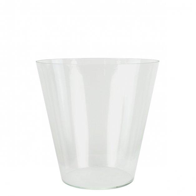 Buitenverlichting Onderdelen Echt glas buitenlamp rond K27 - 24 cm