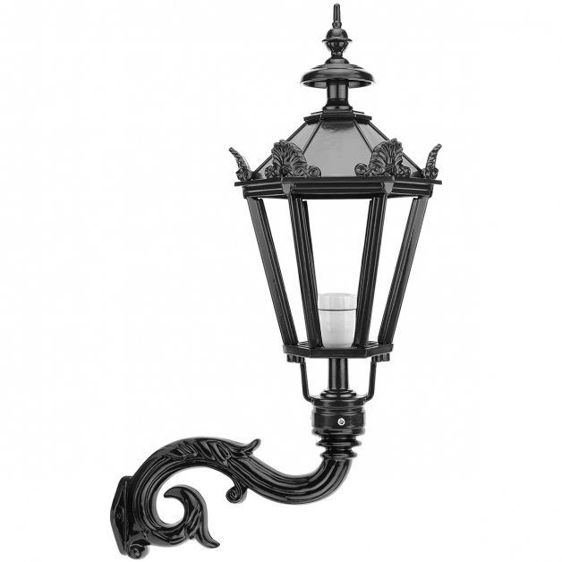 Outdoor Lighting Classic Rural Facade lamp Helmond with crowns - 80 cm